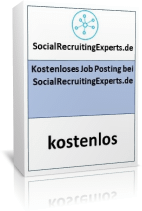 Job Posting SocialRecruitingExperts.de